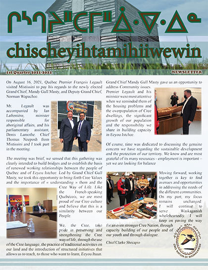 chischeyihtamihiiwewin-Newsletter-1st-quarter-2021-2022-1