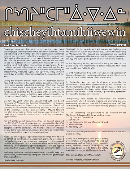 chischeyihtamihiiwewin-Newsletter-2nd-quarter-2020-for-website-1
