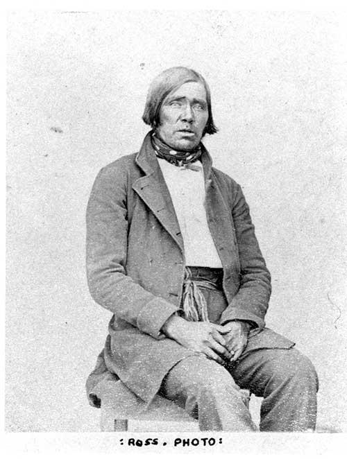 Jacob Capsoo (Salt), aka. The Mission Man cca. 1896 Archives of Ontario